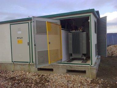Модули за фотоволтаични електроцентрали и трансформаторни подстанции