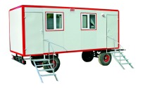 Ремаркета - строителни фургони, фургони при бедствия и аварии