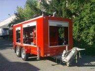 Ремарке за аварийно-спасителна техника в случаи на пожар